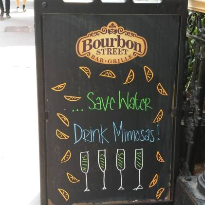 Bourbon Street Signage