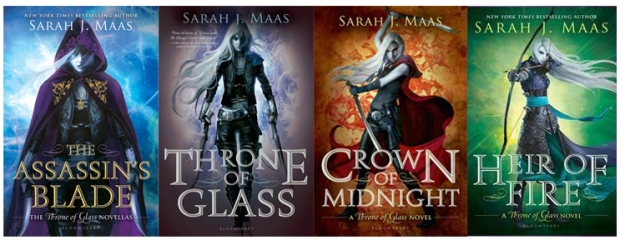 throne of glass series banner