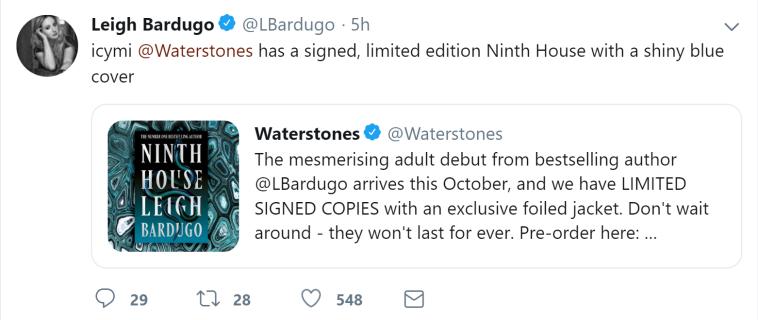 Twitter-Leigh Bardugo